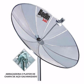 Antena Parabolica Digital Hd Bedin Sat Banda C 1, 90 Cm
