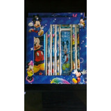 Set Escolar Mickey Mouse Cotillon