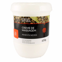 Dagua Natural Creme Massagem Pimenta Negra 650g Frete Grátis