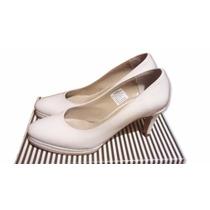 Zapato Blanco Novia/quince Años Talle 38