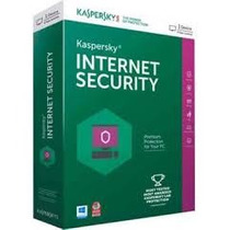 Kaspersky Internet Security 2017 - 1 Pc 1 Ano -imperdivel
