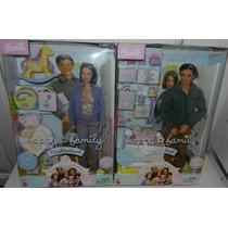 Grandpa(vovô) E Grandma(vovó) Barbie Happy Family Mattel