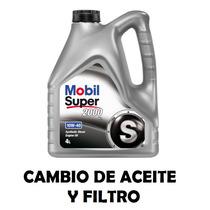 Cambio De Aceite + Filtro - Fiat Uno Smart 1.1