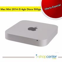 Mac Mini I5 4gb Ram Disco 500gb Late 2014