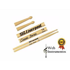 Baquetas 7a Marfim Liverpool Classic Series Web Instrumentos