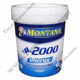 Pintura Blanco Interior Av 2000 Montana Cuñetes 4 Galones