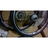 Llantas Doble Pared Aluminio-freno A Disco.ruedas Completas