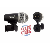 Microfone Para Tom De Bateria Lyco Sml56 Com Garra