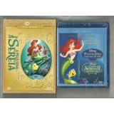 Blu Rays A Pequena Sereia 1, 2 & 3 - Col. Completa Lacrados.