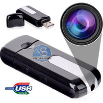 Pendrive Espião Camera Espiã Sensor De Movimento Video Fotos