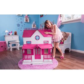 Casa Barbie Casinha De Bonecas Palácio Barbie Lian Sonhos