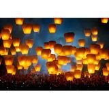 10 Globos Cantoya Deseos Fiestas Luminosos Papel / N Ofertas