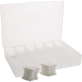 Una Caja De Plástico 50 Bobinas De Hilo Dental