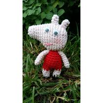 Set Peppa Pig Por 10 Unidades Tejido A Crochet