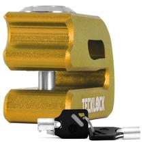Trava Disco Moto Freio Teck Lock Cadeado Frete Gratis