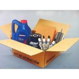 Kit Afinacion Spark Ac Delco C/ Aceite Sintetico Dexos 5w30