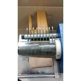Máquina De Cortar Tiras C Prensa. 10cm 8 Cuchillas