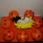 Centro De Torta De Dragon Ball Z