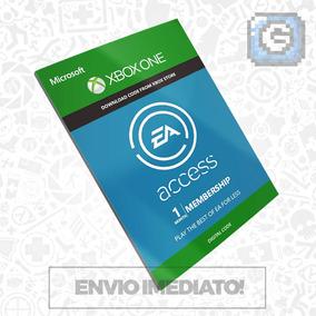 Ea Access Brasil Xbox One - Cartão Assinatura 1 Mês Br Us