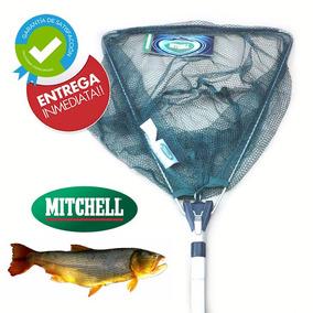Copo Red Pesca Mitchell Plegable De Aluminio Barrio Norte