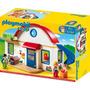 Casa Casita Muñecos Muebles Sonido Playmobil Palermo Z Norte