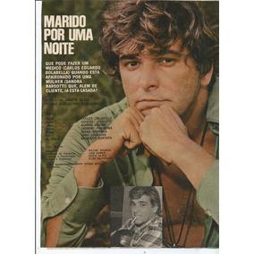 Pôster - Carlos Eduardo Dolabella -revista Sétimo Céu -1971.