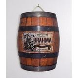 Barril Cerveja Brahma Estella Decoração Rustica
