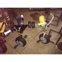 Carritos Montables Triciclo 4 Años Metal Niño Niña Juguete