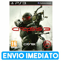 Crysis 3 Ps3 Cod Psn Envio Imediato