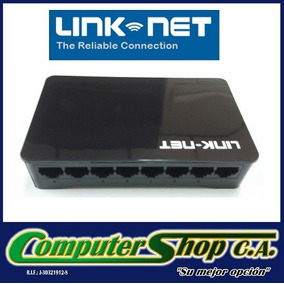 Switch De 8 Puertos / Linknet / 10/100mbps / Lw-10815