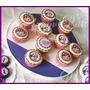 Cupcakes Artesanales Con Imagen Comestible