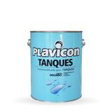 Pintura Impermeabilizante P / Tanques 4 L Plavicon Prestigio