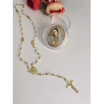 Recuerdo Aniversario Luctuoso,rosario Con Alhajero Virgen.