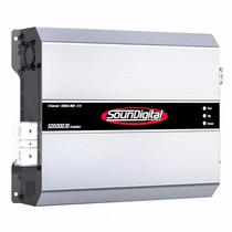 Amplificador Soundigital Sd5000.1d 5000wrms 2ohms Modulo