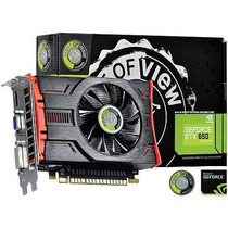Placa De Video Geforce Nvidia Gtx 650 1gb Gddr5 128 Bits -