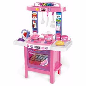 Cocina P/ Nena Marca Love 7900 Mi Primer Cocina - 34 Piezas