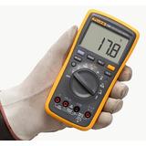 Multimetro Digital Fluke 17b+ Novo + Acessórios, Nf Garantia