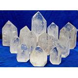 3 Kg Cristal Lapidado Gerador Sextavado Comum Transparencia