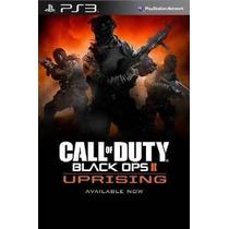 Call Of Duty Operaciones Negro Ii: Uprising Dlc ¿¿- Ps3 [cód