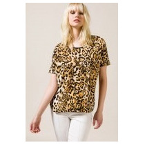 Remera Grande Animal Print Porsaid Talle Xl