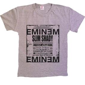 Camiseta Hiphop Swag Shady 50 Cent - Eminem - 100% Algodão