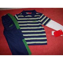Puma Original Conjunto Nene Remera Y Pantalon Jogging