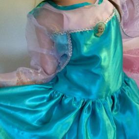 Hermoso Disfraz De Disney Frozen Reina Elsa