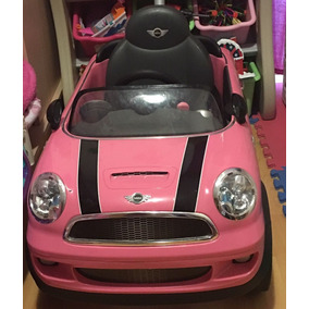 Mini Cooper Montable Rosa Única Dueña Impecable.