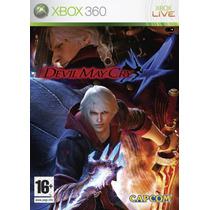 Devil May Cry 4 Xbox 360 + Envio Gratis Dhl