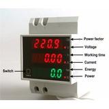 Controle Su Consumo Electrico-medidor Tensión/corriente