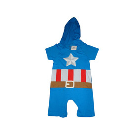 Enterito Bebe Niño Baby Body Capitan America Marvel
