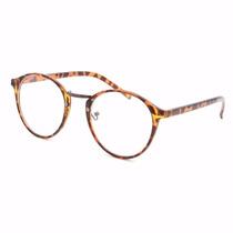 Armação Óculos De Grau Acetato Redondo Masculino Feminino Ga