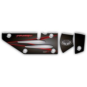 Adesivo Para Protetor De Escapamento Yamaha Fazer 250 0004