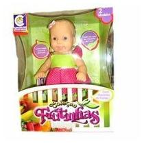 Boneca Frutinha Baby Grande Limão Cotiplás